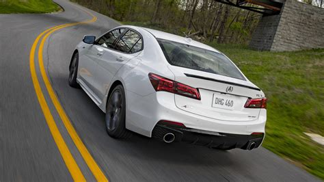2019 acura tlx a spec 4 cylinder car specs 2019
