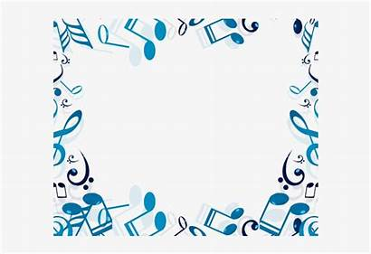 Border Musical Clipart Note Transparent Nicepng
