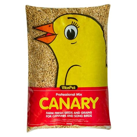 buy vitapet bird seed canary bag 500g online at countdown