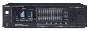 Technics Sh-8066 - Manual - Stereo Graphic Equaliser  Spectrum Analyser