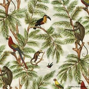 Botanical interiors trend 2015 jungle wallpaper from ...