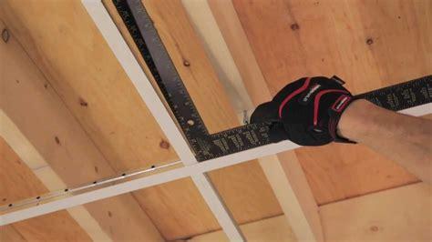 comment poser un plafond rona comment poser un plafond suspendu