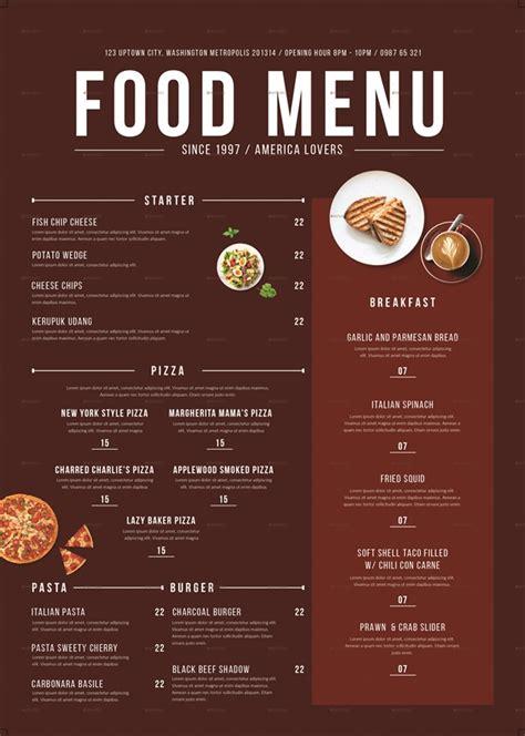 cuisine menu 49 creative restaurant menu design ideas that will trick