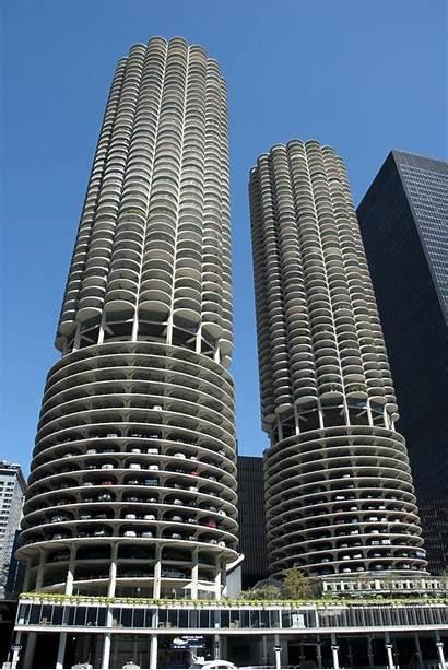 Marina Architecture Buildings Chicago Building Architect Foundation