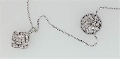 Diamonds Repurposed Pile Jewelry Necklaces Grandma