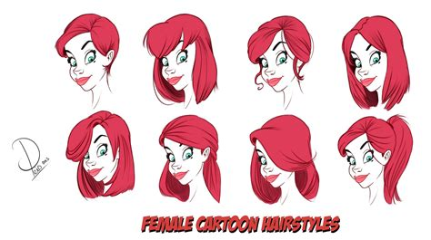 Different Cartoon Drawing Styles Drawing Sketch Picture