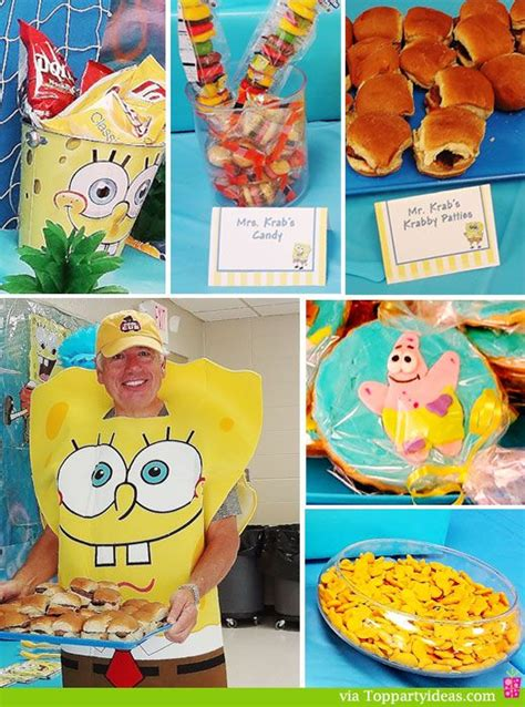 spongebob cuisine 17 best images about sponge bob ideas on