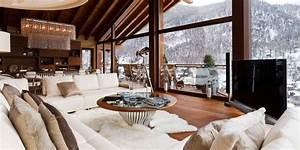 Dekoideen Luxurise Interieurs Der Chalets In Den Alpen