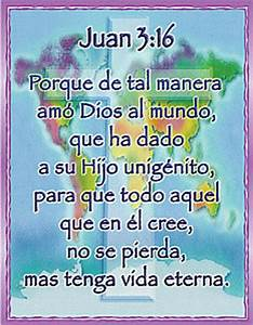 John 3:16 Poster - X Large in Spanish by SmileyMe!