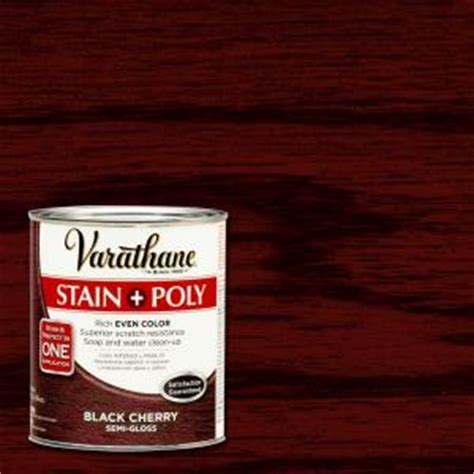 Varathane 1 qt. Black Cherry Stain and Polyurethane (Case