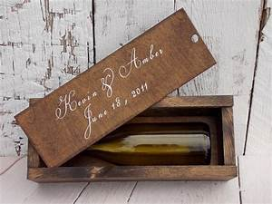 rustic wine box slide lid wine box wood wine box wedding With wine box wedding gift
