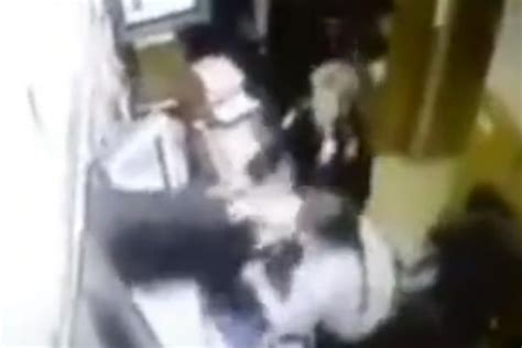 Watch Cheeky Thief Make Escape With His Pants Around His