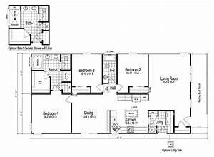 3 Bedroom Modular Home Floor Plans Homes For 2018 ...