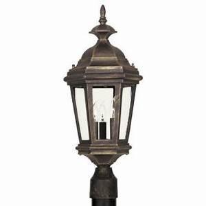 innova lighting 3 light outdoor led lamp post lantern With innova lighting led 3 light outdoor lamp post parts
