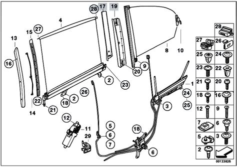 Bmw Door Lock Actuator Wiring Diagram by Original Parts For E66 730li M54 Sedan Vehicle Trim Sun