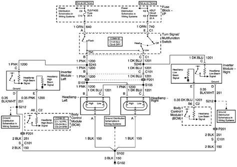 2003 Pontiac Sunfire Wiring Schematic by Repair Guides Lighting Systems 2004 Exterior