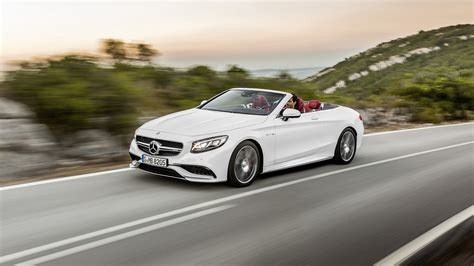 2017 Mercedes-benz S63 Amg Cabriolet Wallpapers & Hd