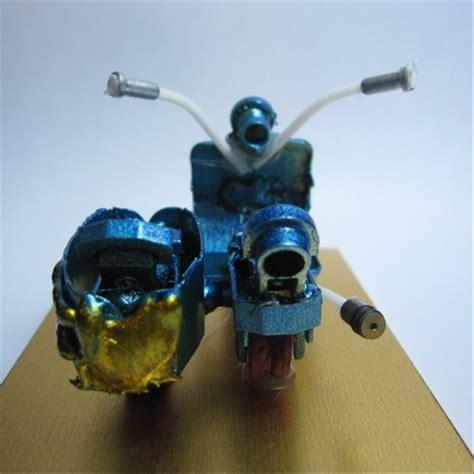 jual mnt01 kerajinan handmade miniatur pajangan mainan koleksi motor unik di lapak won chow xcraft