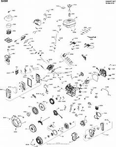 Kohler Sh265 One Page Model Composite Parts Diagram For Engine