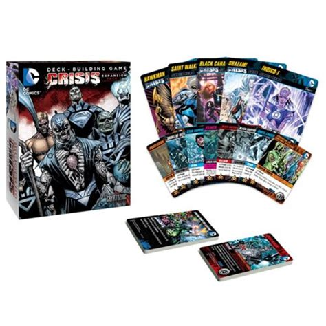 Dc Deck Building Expansion Release Date by Dc Comics Deck Building Crisis Expansion Pack 2