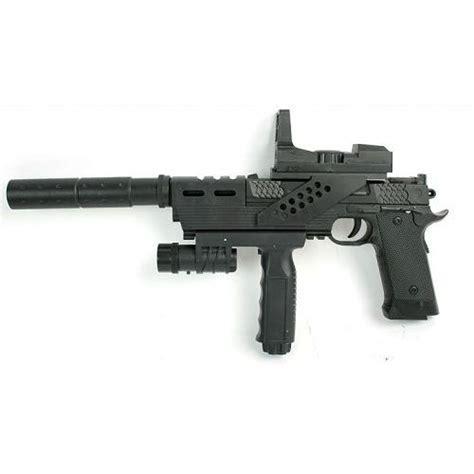 pistolet 192 billes red line series 55328 pvc 26 cm avec