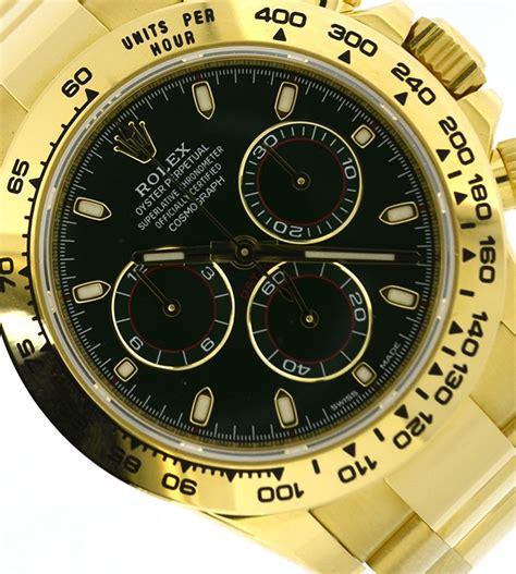 Rolex Daytona yellow gold 116508 green dial, brand new ...