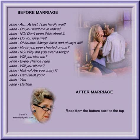 Funny Marriage Meme - before and after marriage