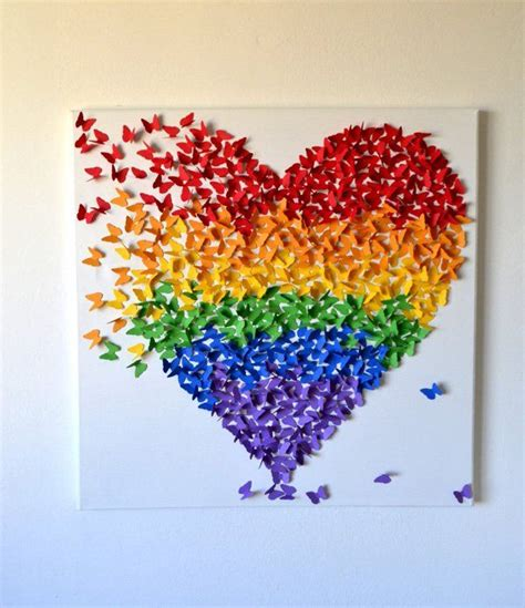 #diy #wallhanging #walldecor on trending wall hanging. Top Lively Rainbow Decor Ideas That Will Cheer You Up