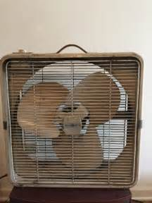 Box Fans with Metal Blades