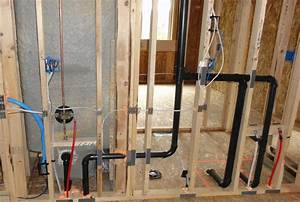 New Construction Plumbing Layout