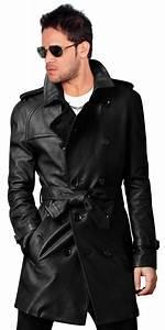 Trench Coat Burberry Homme : leather trench coat style homme leather trench coat mens leather trench coat et long ~ Melissatoandfro.com Idées de Décoration