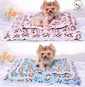 pink blue cute coral velvet pet dogs beds high quality With cute dog beds for medium dogs