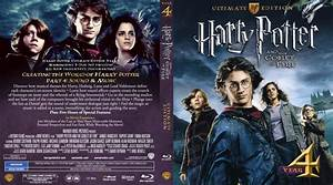 Harry Potter And The Goblet Of Fire - Movie Blu-Ray Custom ...