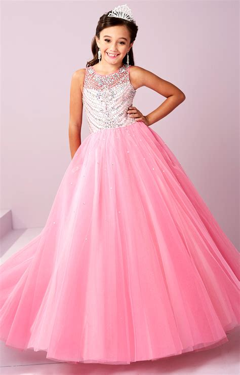 tiffany princess  beaded sparkle gown prom dress