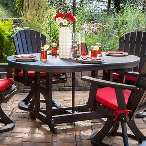 Garden, Classic, 44, X, 64, In, Oval, Dining, Table, -, Garden, Classic, Tables