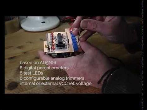 Digital Potentiometer Arduino Shield Youtube