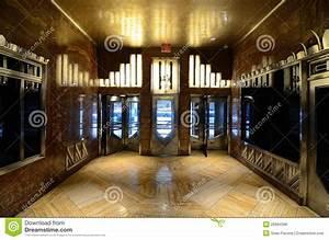 Chrysler Building Lobby Editorial Photo - Image: 20994586