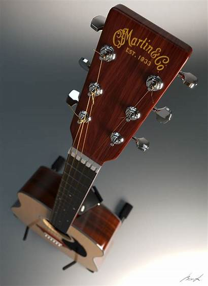 Guitar Acoustic Martin Iphone Awesome Guitars Blenderartists
