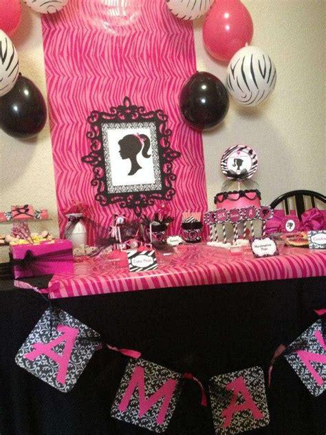 chic barbie slumber party birthday party ideas photo