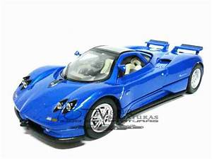 Pagani Zonda C12 Azul 1 24 Motor Max  U2013 Totalcar Miniaturas