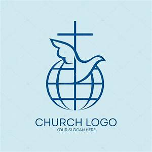 Church logo. Missions, globe, dove, cross, Christianity ...