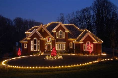 christmas lights on houses images residential holiday light installation long island