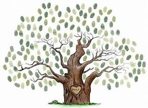 Arbre A Empreinte : un arbre empreintes pour mon mariage j 39 ai dit oui ~ Preciouscoupons.com Idées de Décoration