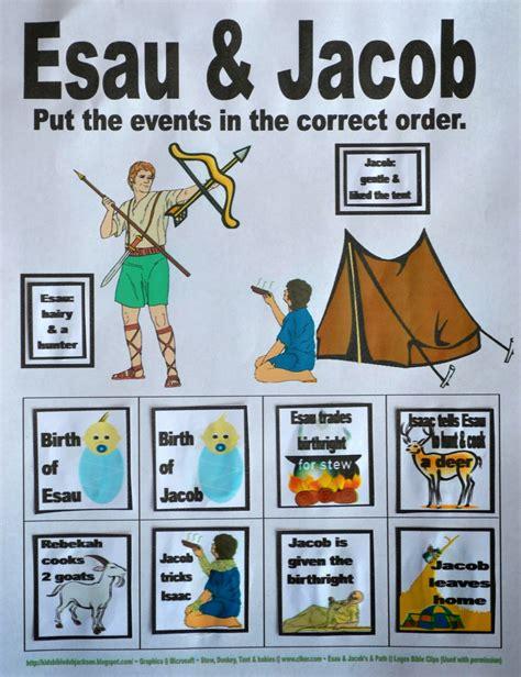 bible for genesis jacob amp esau 601 | 7. Jacob %2526 Esau put in order worksheet done