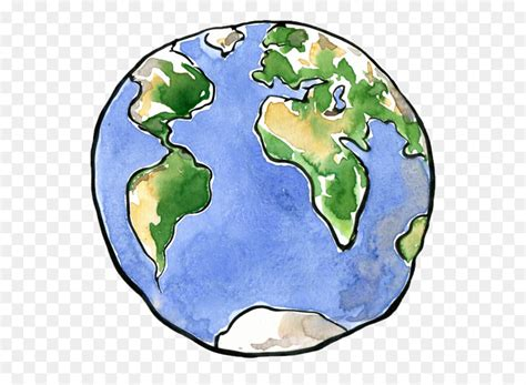 earth drawing planet clip art earth cartoon png