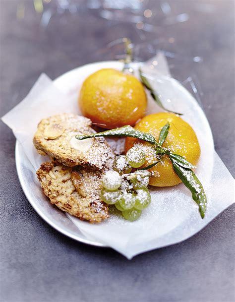cuisine de noel croquants aux amandes pour 6 personnes recettes