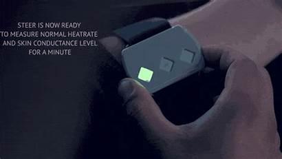 Steer Device Bracelet Shock Electric Heart Rate