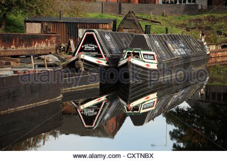 Boat Transport Midlands by A Canal Black Country In Dudley Near The Black Country