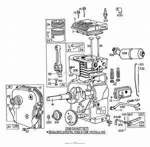 Toro Professional 62900  5 Hp Lawn Vacuum  1973  Sn