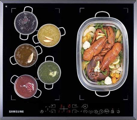 samsung cuisine le duo modulable à induction de samsung inspiration
